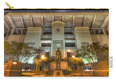 Kyle Field Carry-all Pouch by David Morefield