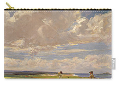 Lady Astor Playing Golf At North Berwick Carry-all Pouch by Sir John Lavery