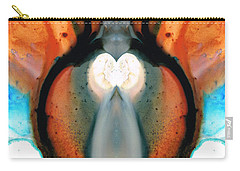 Lady Venus - Abstract Art By Sharon Cummings Carry-all Pouch by Sharon Cummings