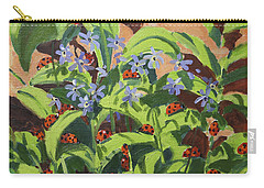 Ladybirds Carry-all Pouch by Andrew Macara