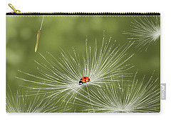 Ladybug Carry-all Pouch by Veronica Minozzi