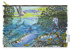 Lagoon Carry-all Pouch by Carey Chen