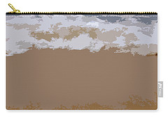 Lake Michigan Shoreline Carry-all Pouch by Michelle Calkins