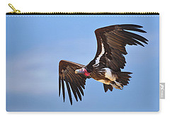 Lappetfaced Vulture Carry-all Pouch by Johan Swanepoel