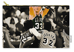 Larry Bird Carry-all Pouch by Brian Reaves