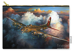 Last Flight For Nine-o-nine Carry-all Pouch by Randy Green