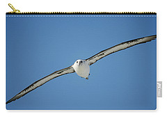 Laysan Albatross Soaring Hawaii Carry-all Pouch by Tui De Roy