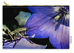 Contemplation Of A Pistil Carry-all Pouch by Karen Wiles