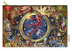 Legacy Of The Divine Tarot Carry-all Pouch by Ciro Marchetti