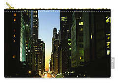 Lexington Avenue, Cityscape, Nyc, New Carry-all Pouch by Panoramic Images