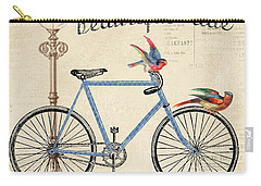 Life Is A Beautiful Ride Carry-all Pouch by Jean Plout
