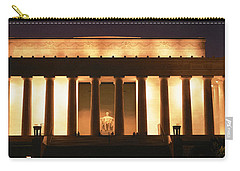 Lincoln Memorial Washington Dc Usa Carry-all Pouch by Panoramic Images