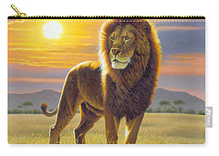 Lion Carry-all Pouch by MGL Studio - Chris Hiett