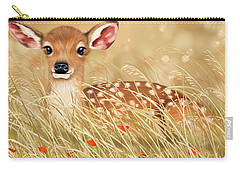 Little Fawn Carry-all Pouch by Veronica Minozzi
