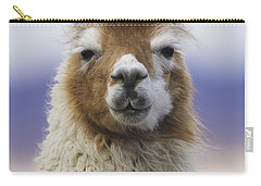 Llama In Bolivia Carry-all Pouch by Art Wolfe MINT