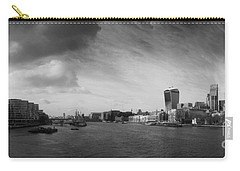 London City Panorama Carry-all Pouch by Pixel Chimp
