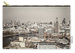 London Cityscape Carry-all Pouch by Elena Elisseeva