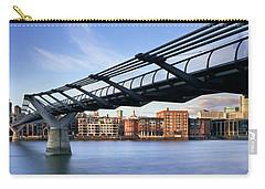 Millennium Bridge London 1 Carry-all Pouch by Rod McLean