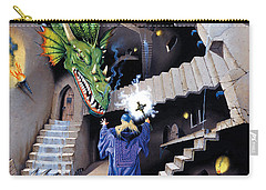 Lord Of The Dragons Carry-all Pouch by Irvine Peacock