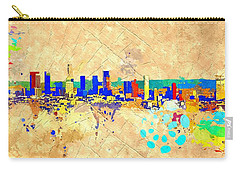 Los Angeles Grunge Carry-all Pouch by Daniel Janda