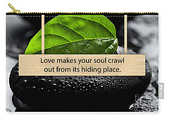 Love Is When Carry-all Pouch by Marvin Blaine