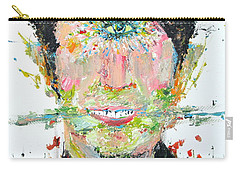 Love Me Do Carry-all Pouch by Fabrizio Cassetta