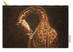 Love's Golden Touch Carry-all Pouch by Crista Forest