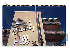 Low Angle View Of A Hotel, Beverly Carry-all Pouch by Panoramic Images