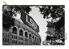 Lsu Through The Oaks Carry-all Pouch by Scott Pellegrin