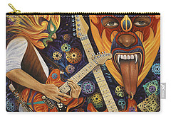 Lucha Rock Carry-all Pouch by Ricardo Chavez-Mendez