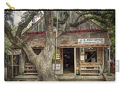 Luckenbach 2 Carry-all Pouch by Scott Norris