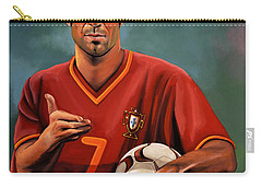 Luis Figo Carry-all Pouch by Paul Meijering