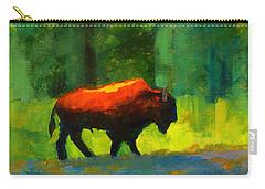 Lumbering Carry-all Pouch by Nancy Merkle