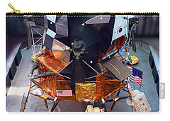 Lunar Module Carry-all Pouch by Kevin Fortier
