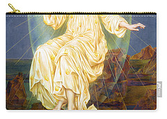 Lux In Tenebris Carry-all Pouch by Evelyn De Morgan