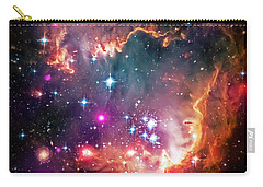 Magellanic Cloud 2 Carry-all Pouch by Jennifer Rondinelli Reilly - Fine Art Photography
