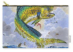 Mahi Hookup Off0020 Carry-all Pouch by Carey Chen