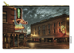 Main And Exchange Carry-all Pouch by Joan Carroll
