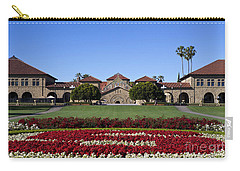 Main Quad Stanford California Carry-all Pouch by Jason O Watson