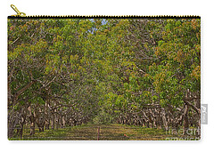 Mango Orchard Carry-all Pouch by Douglas Barnard