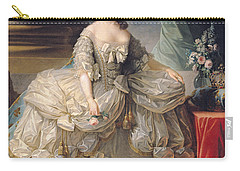 Marie Antoinette Queen Of France Carry-all Pouch by Elisabeth Louise Vigee-Lebrun