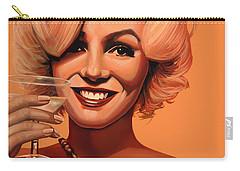 Marilyn Monroe 5 Carry-all Pouch by Paul Meijering