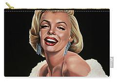 Marilyn Monroe Carry-all Pouch by Paul Meijering