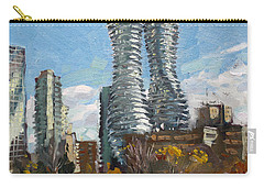 Marilyn Monroe Towers In Mississauga Carry-all Pouch by Ylli Haruni