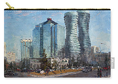 Marilyn Monroe Towers Carry-all Pouch by Ylli Haruni