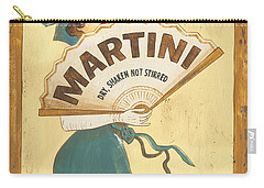 Martini Dry Carry-all Pouch by Debbie DeWitt