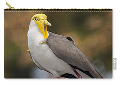 Masked Lapwing Carry-all Pouch by Carolyn Marshall