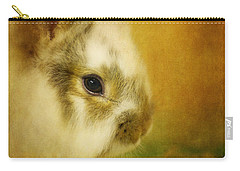 Memories Of Watership Down Carry-all Pouch by Lois Bryan