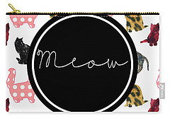 Meow Carry-all Pouch by Pati Photography