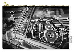Mercedes-benz 250 Se Steering Wheel Emblem Carry-all Pouch by Jill Reger